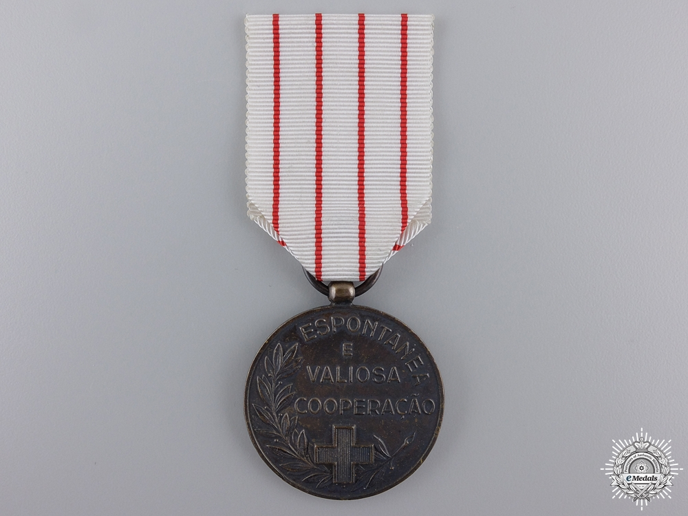 A Portuguese Red Cross Medal