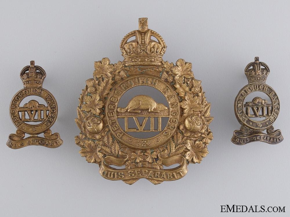 A Pre First War 57th Peterborough Rangers Group