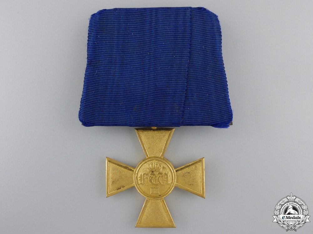 A Pre First War Prussian Military Long Service Decoration