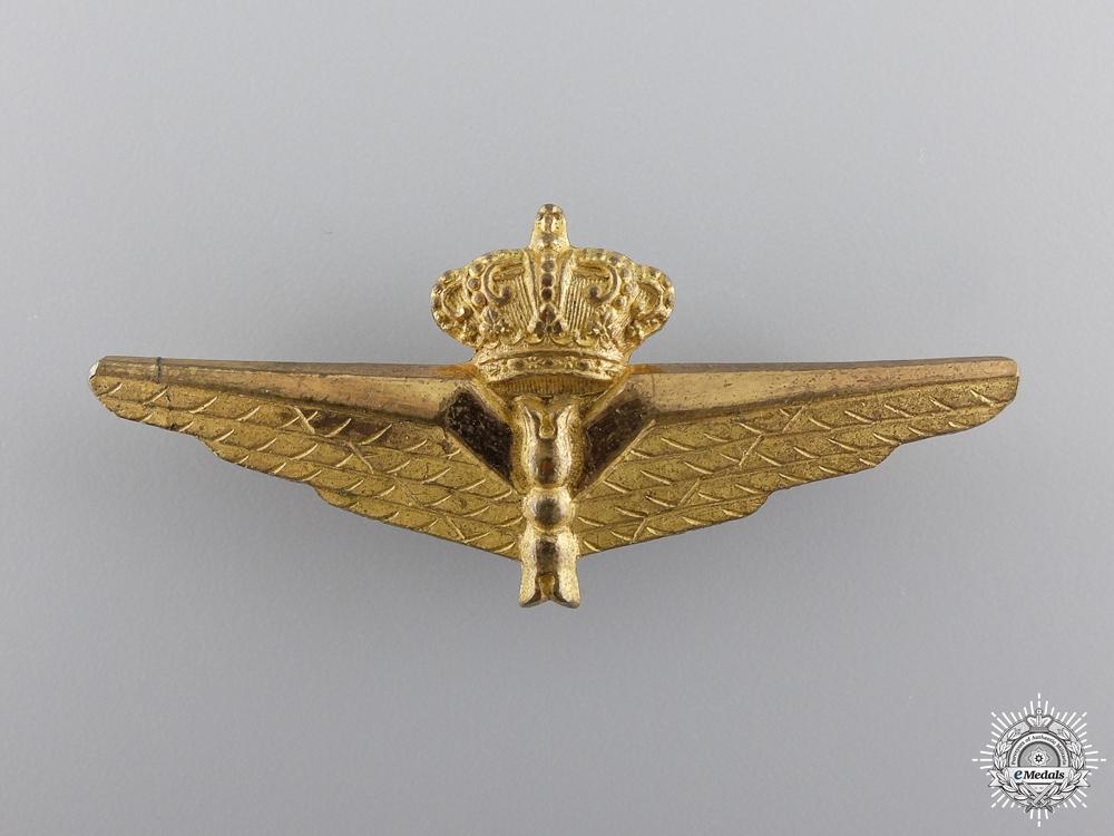 A Pre Second War Italian Observer's Badge