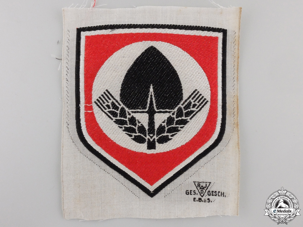 A RAD Sports Shirt Insignia