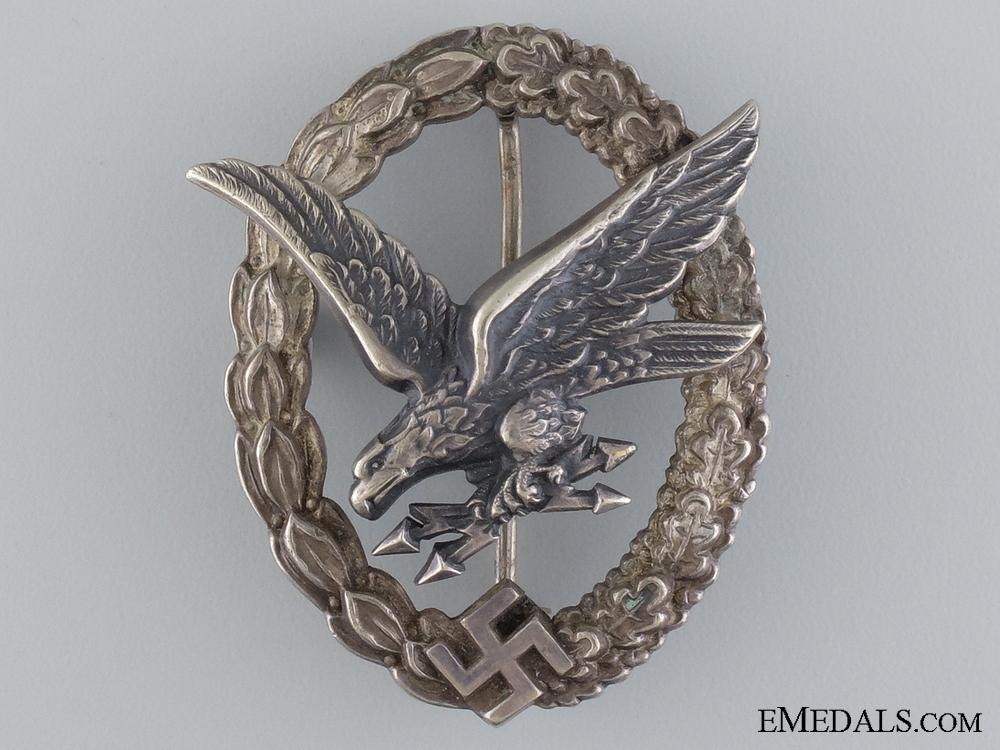A Radio Operator & Air Gunner Badge by B&NL