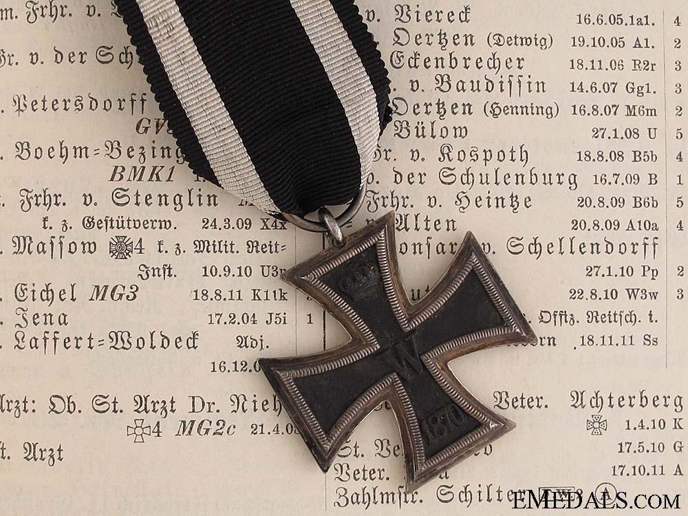 A Rare 1870 Prinzen Iron Cross