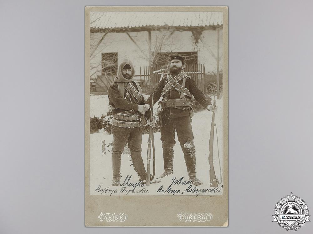 A Rare Chetnik Cabinet Portrait