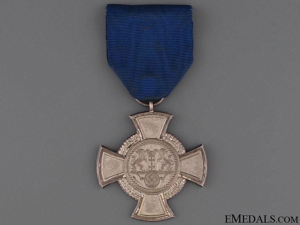 A Rare Danzig Faithful Service Cross
