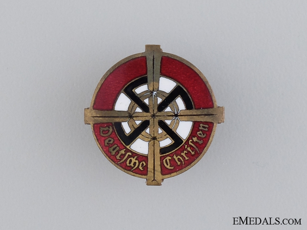 A Rare German Christian Church Membership Badge by Willi Merten