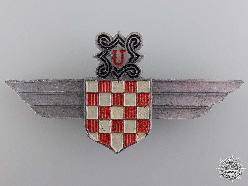 A Rare German Made Croatian Air Legion Insignia
