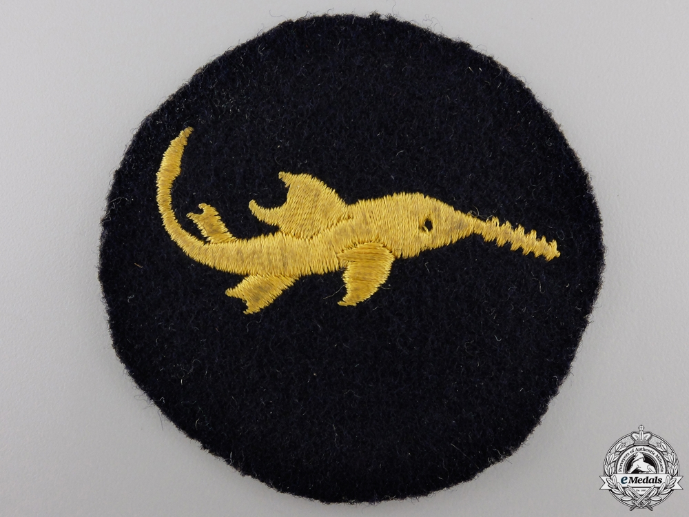 A Rare Kriegsmarine Small Naval Battle Units Bravery Badge