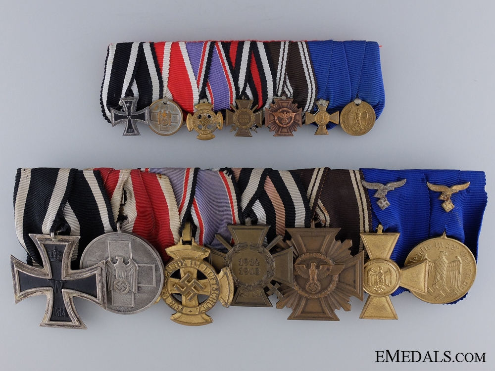 A Rare Second War Group of Seven Awards
