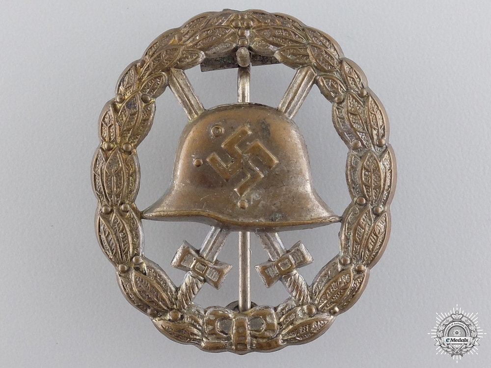 A Rare Silver Grade Wound Badge: Cut Out Version