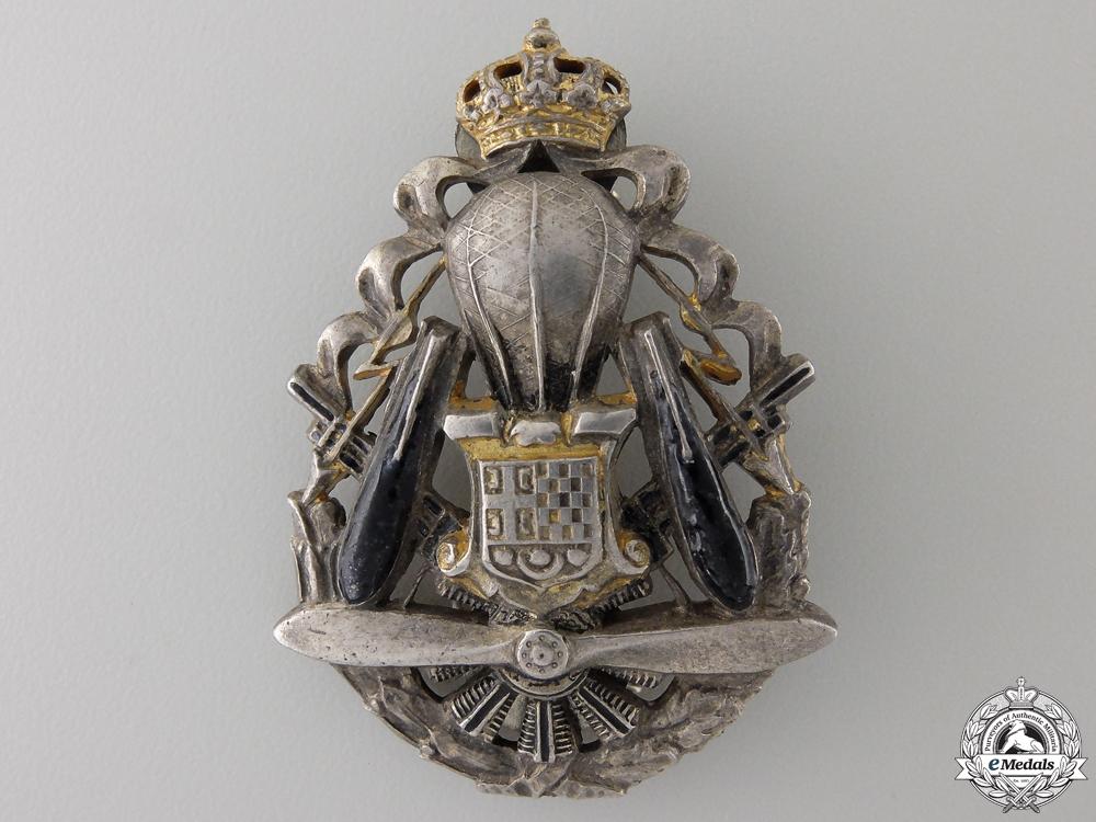 Yugoslavia, Kingdom. Air Force Aircrew Badge