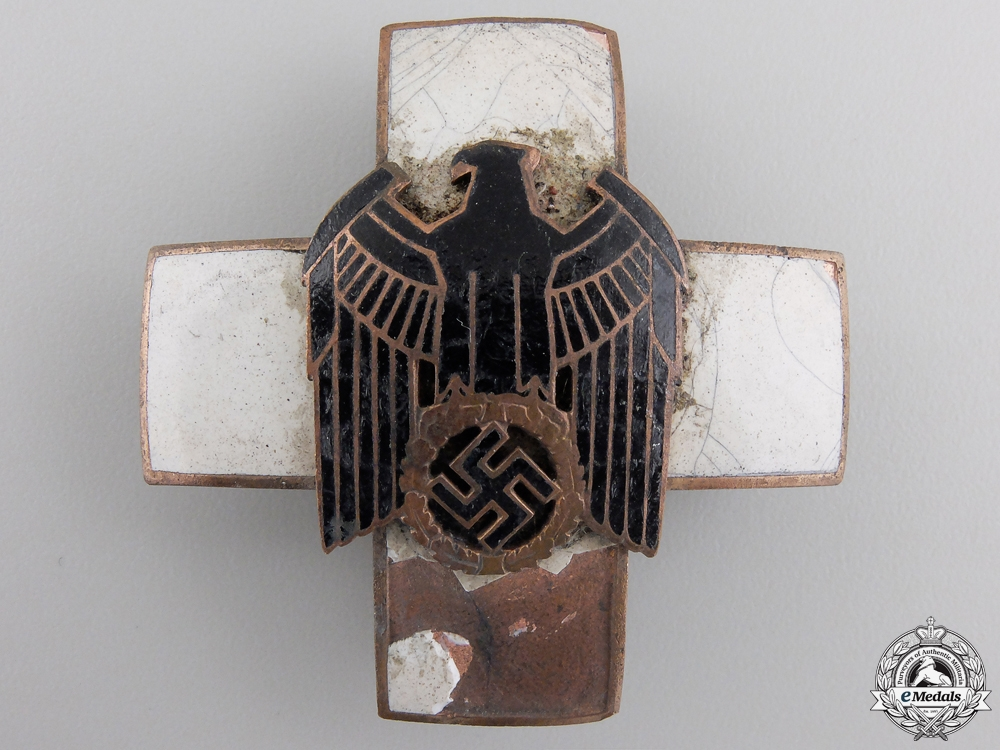 A Recovered German Social Welfare Organization Merit Cross