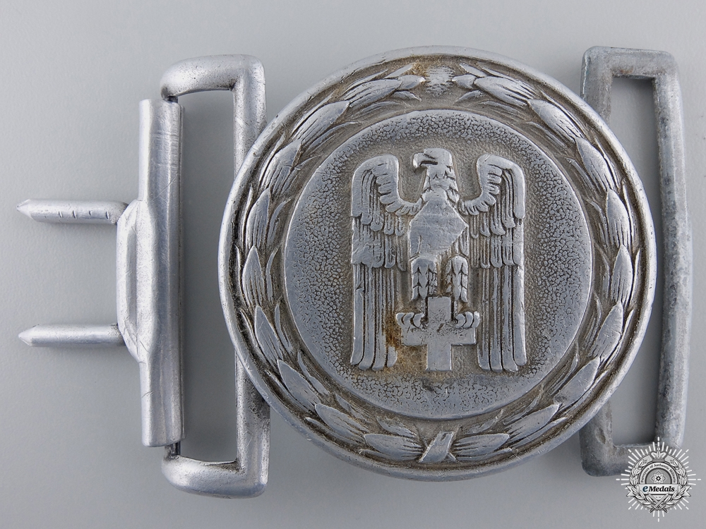 A Red Cross Officer's Belt Buckle