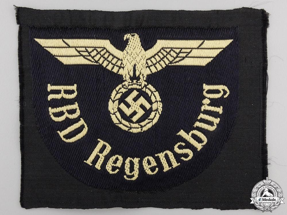 A Reichsbahn Ärmeladler RBD Regensburg