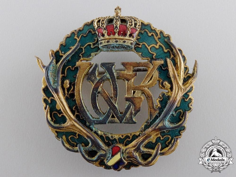Romania. A Hunter's Merit Badge by A.Bertrand