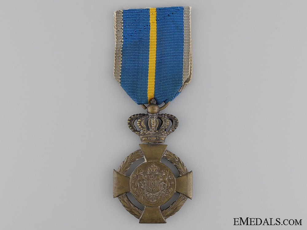 A Romanian Loyal Service Cross, 3rd Class, Type II (1938-1947)