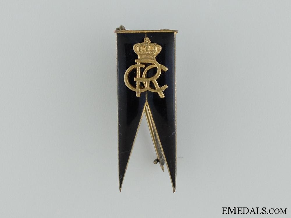 A Romanian Officer's Regimental Badge