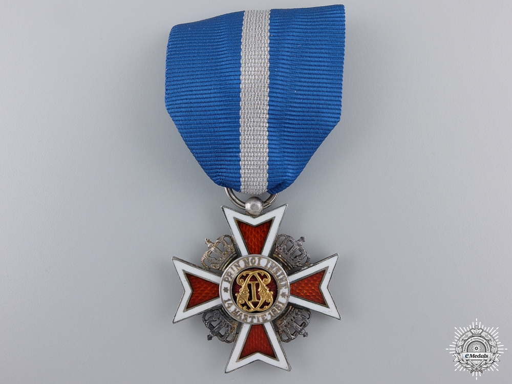 A Romanian Order of the Crown; Fifth Class