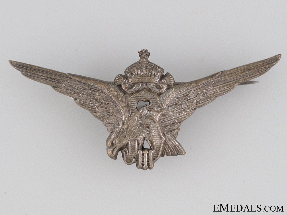"A Royal Bulgarian Pilot""¢¯s (Wing) Badge"