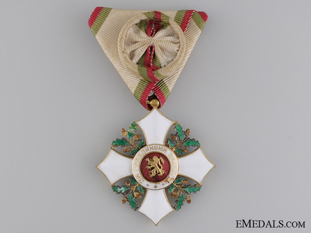A Royal Bulgarian Order for Civil Merit, IV Class
