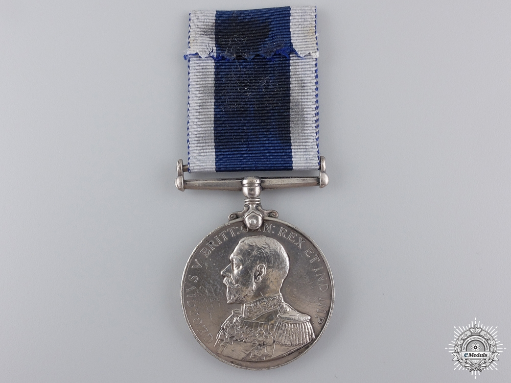 A Royal Naval Long Service & Good Conduct Medal to H.M.S. Vivid