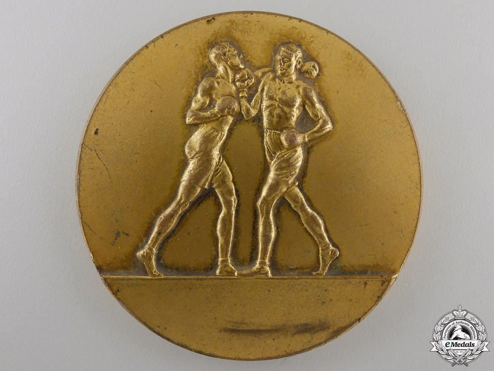 A Royal Navy Boxing Association Medal to Leading Seaman Murray