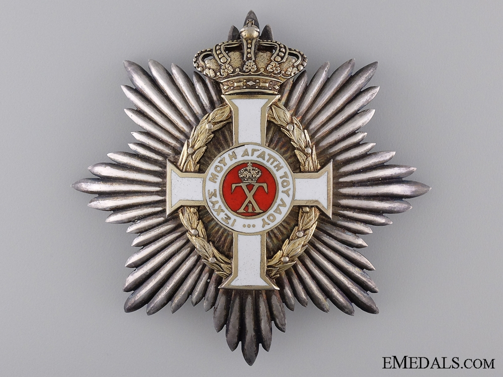 A Royal Order of George I; Civil Division Grand Cross by Spink