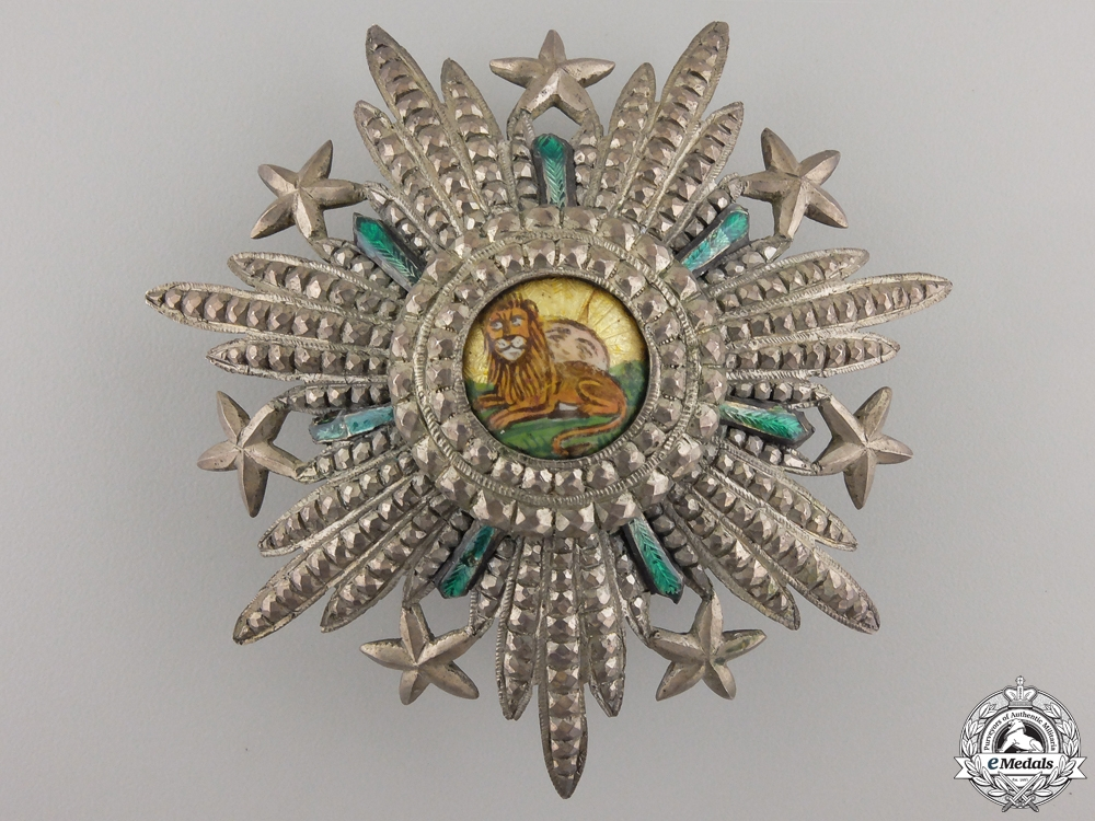A Russian Made Iranian Order of Homayoun; 2nd Class Star