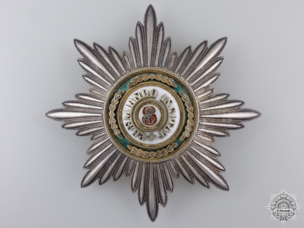 A Russian Order of St. Stanislaus; First Class Star