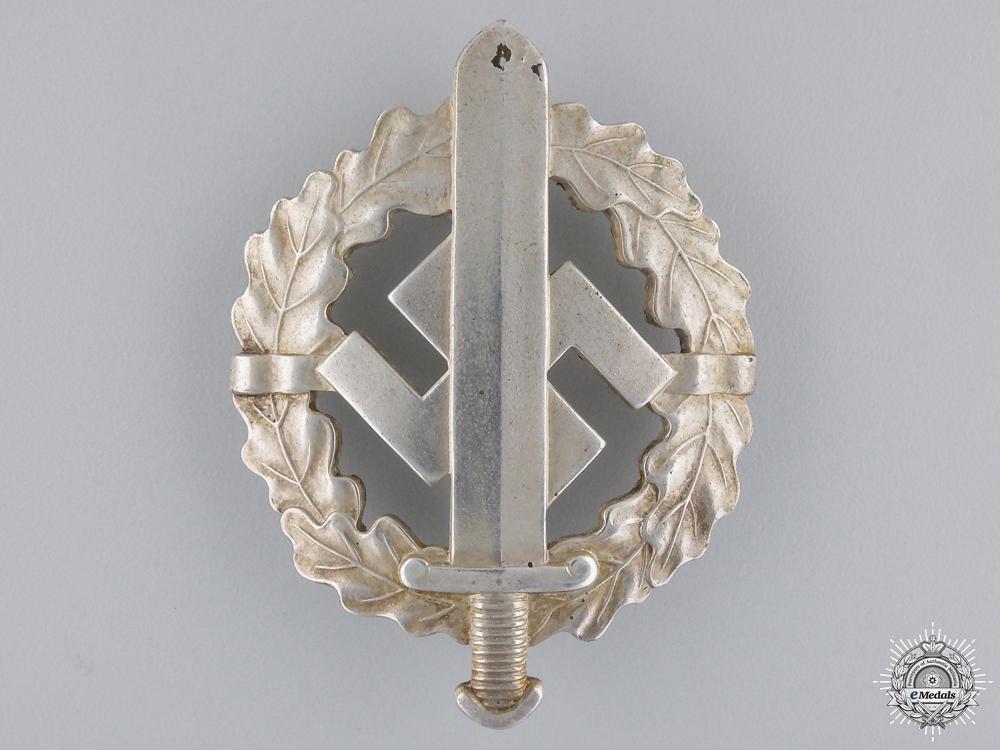 A SA Sport Badge; Silver Grade