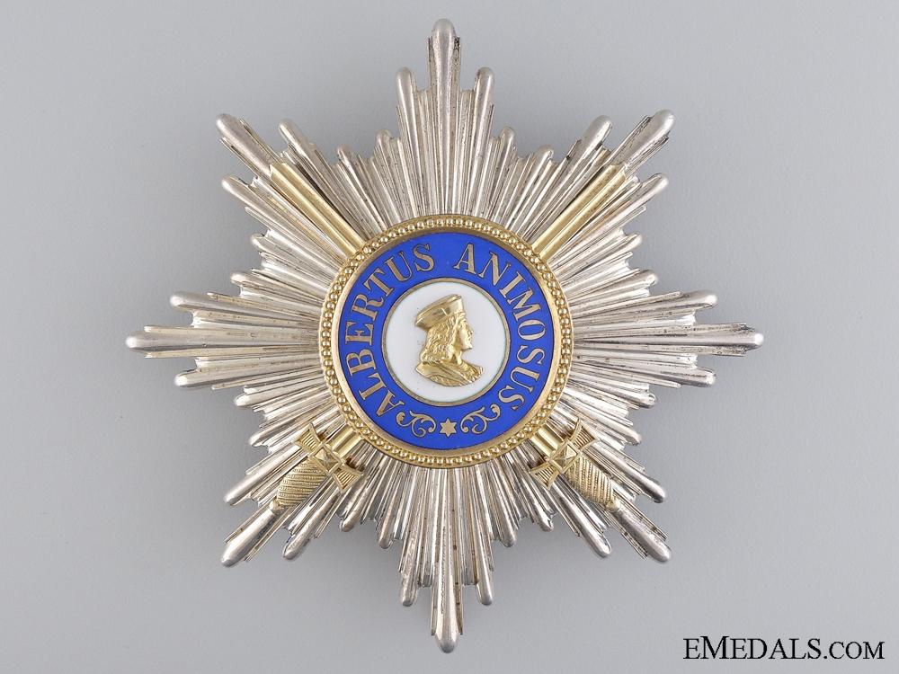A Saxon Order of Albert; Grand Cross with Swords