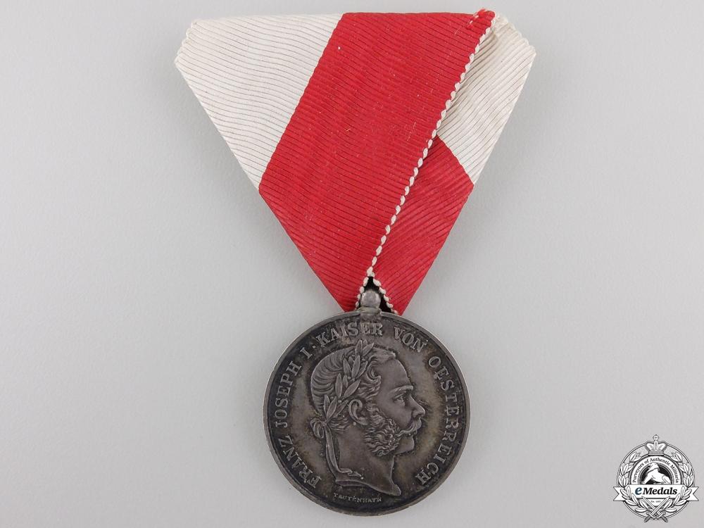 A Scarce Austrian 1866 Prague Commemorative Medal
