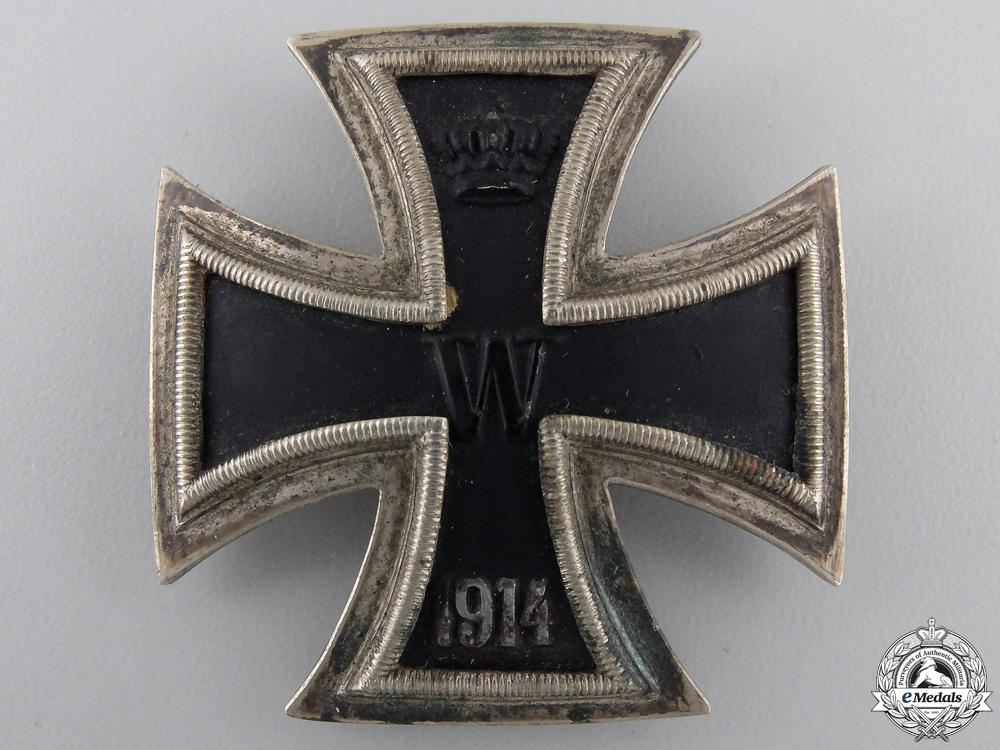 A Scarce Iron Cross First Class 1914 by Juncker