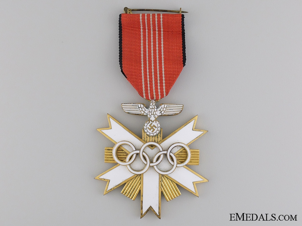 A Second Class German Olympic Merit Cross