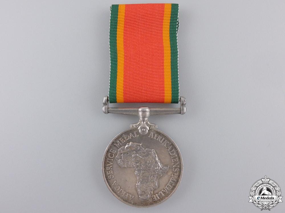 A Second War Africa Service Medal