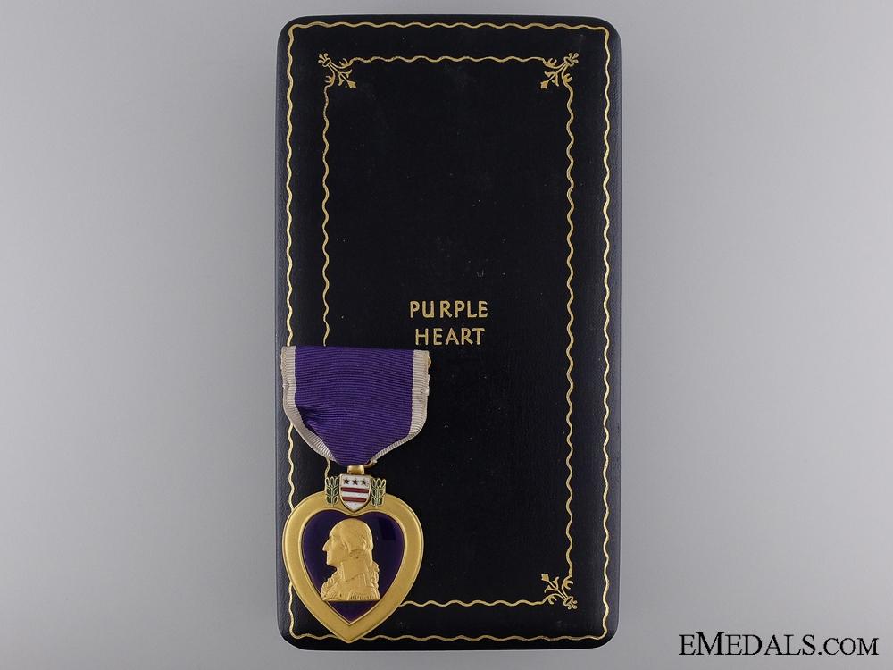 A Second War American Purple Heart to Nicholas J. Condi