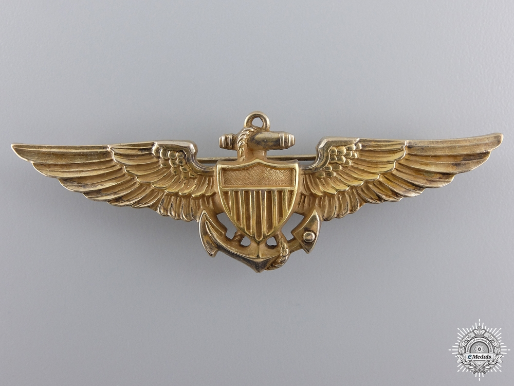 A Second War American Navy Pilot Wing