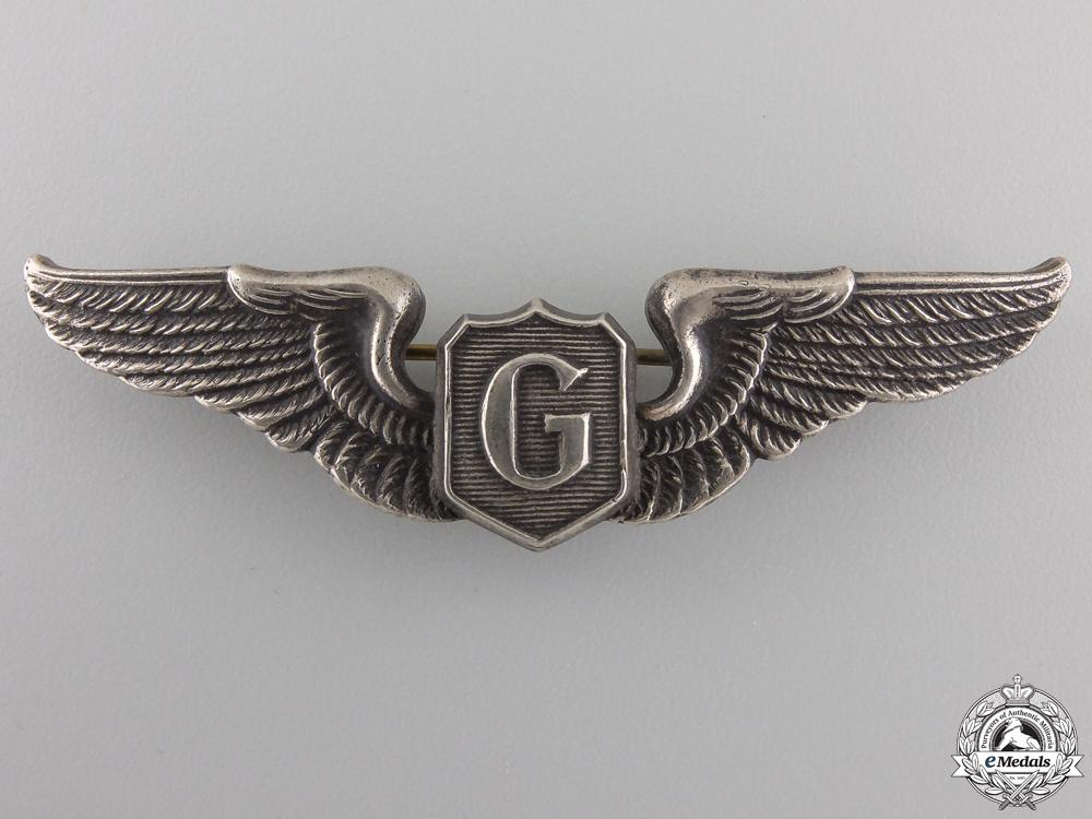 A Second War American Glider Pilot Badge