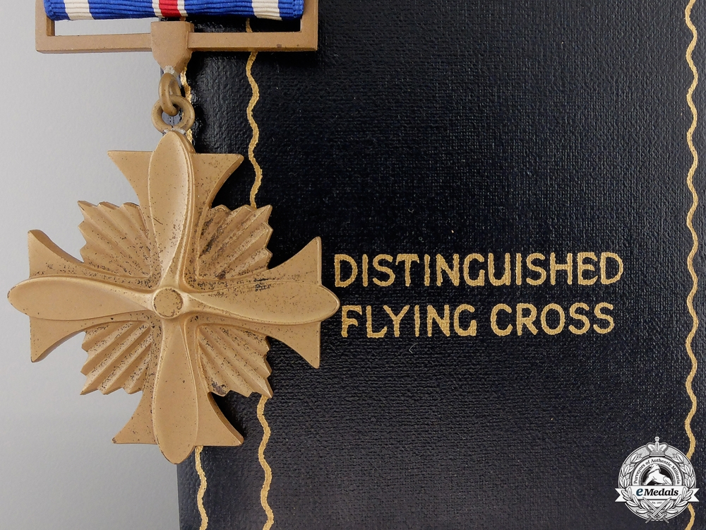 A Second War American Distinguished Flying Cross