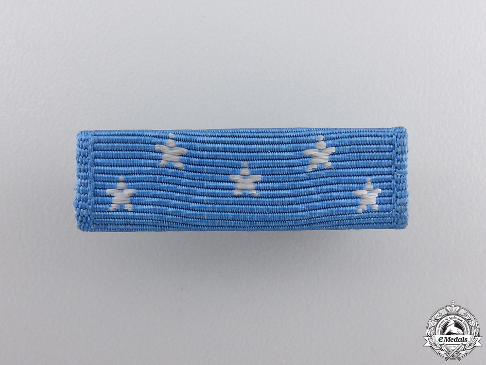 A Second War American Medal of Honor Ribbon Bar