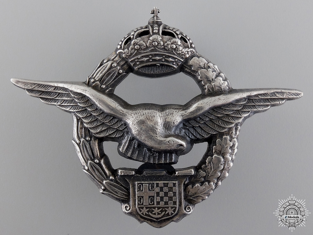 A Second War Army Air Service Pilot's Badge