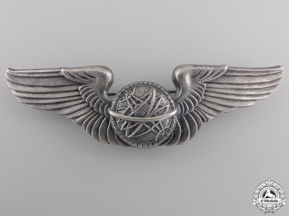 A Second War Army Air Force Navigator Badge