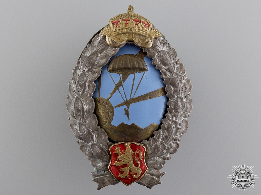A Second War Bulgarian Paratrooper Badge