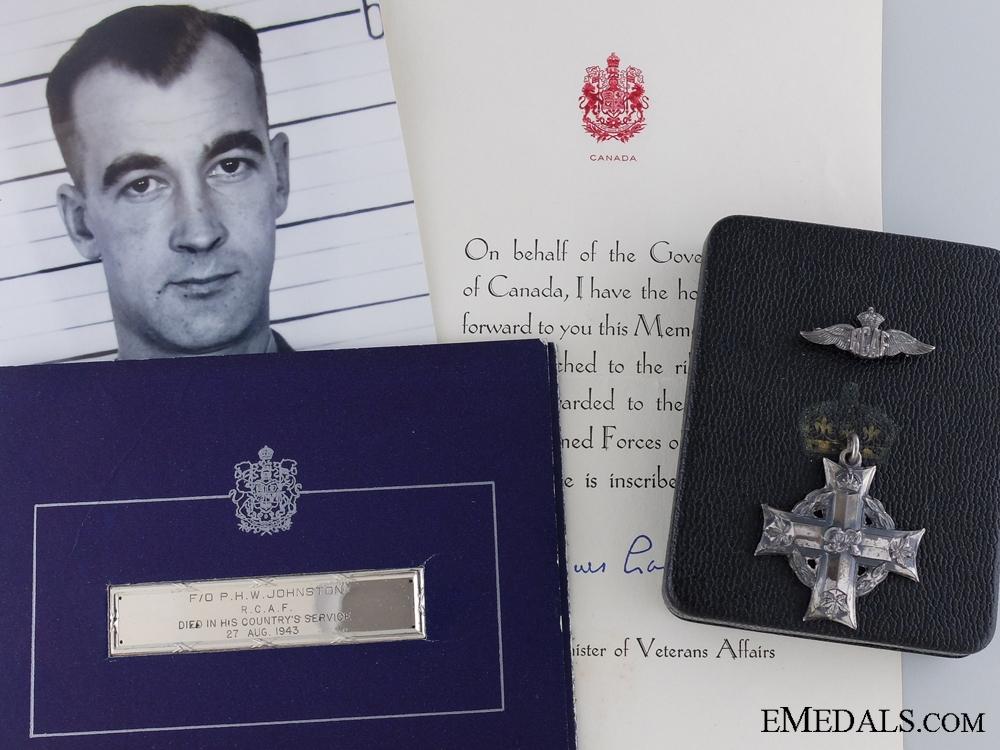 A Second War Canadian Memorial Cross for No.200 Squadron RAF 1943