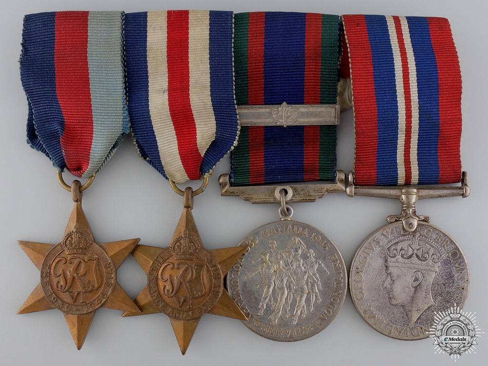 A Second War Canadian Medal Bar