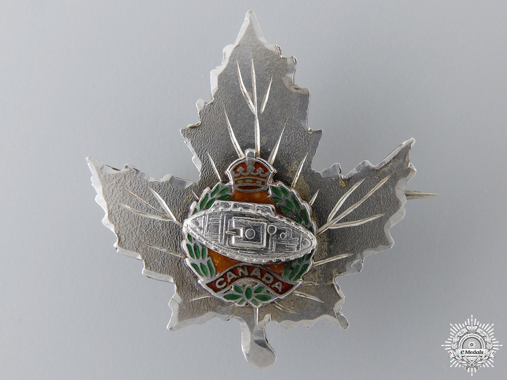 A Second War Canadian Armoured Corps Sweetheart Pin