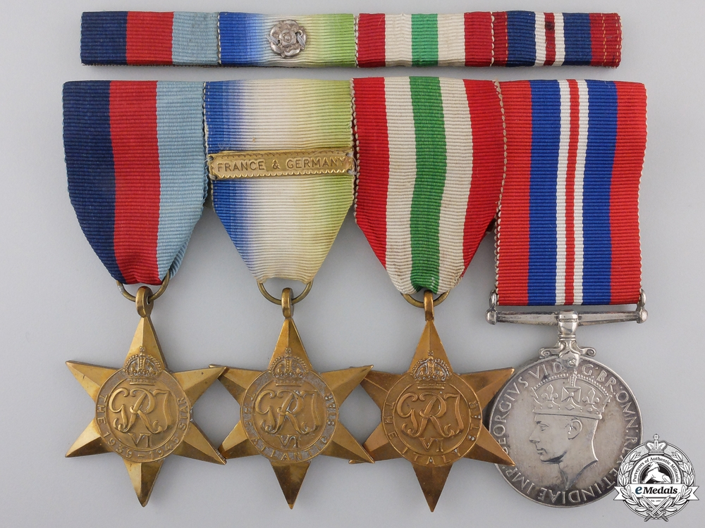 A Second War Canadian Group of Four Awards