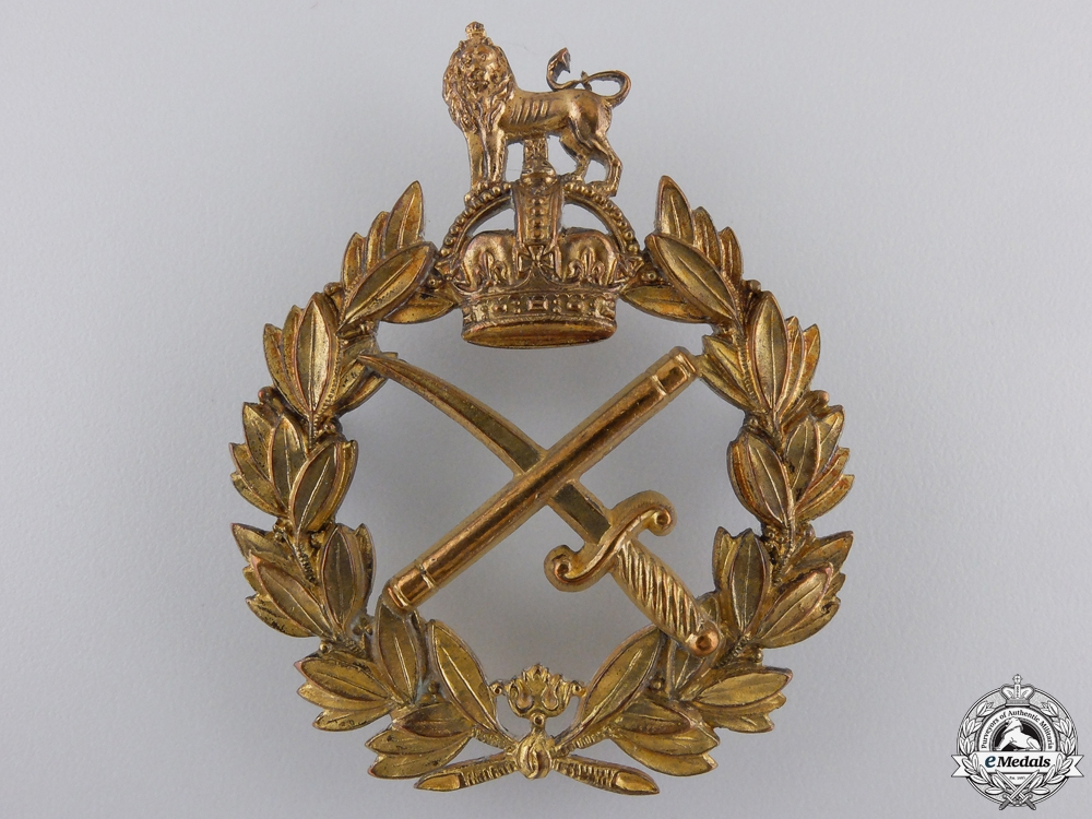 A Second War Canadian Army General's Cap Badge