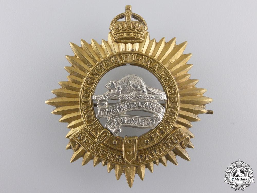 A Second War Canadian Midland Regiment Cap Badge
