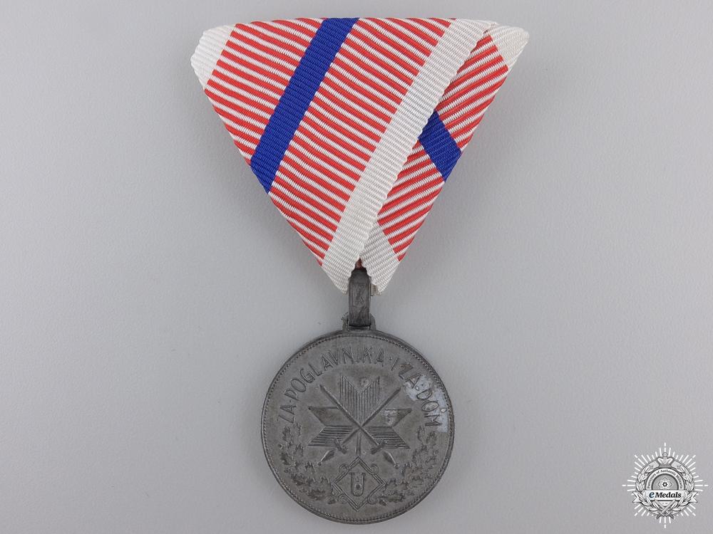 A Second War Croatian Single Wound Medal